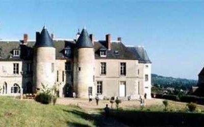 Le château de Vaux-sur-Seine
