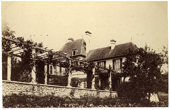 Château de Beauregard, côté jardin, 16 août 1891