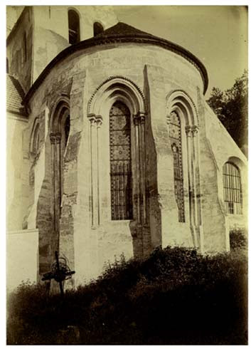Eglise chevet, 17 juin 1888
