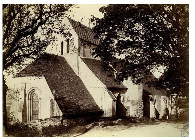 Eglise ensemble nord-est, 6 mai 1888