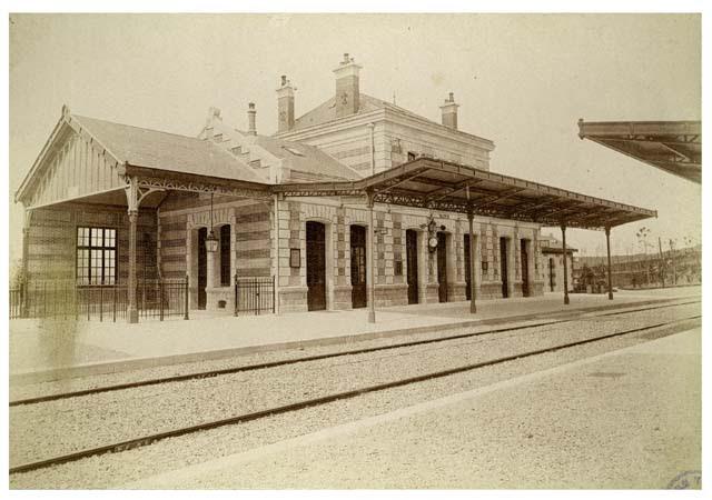 Gare de Vaux, 26 mai 1892