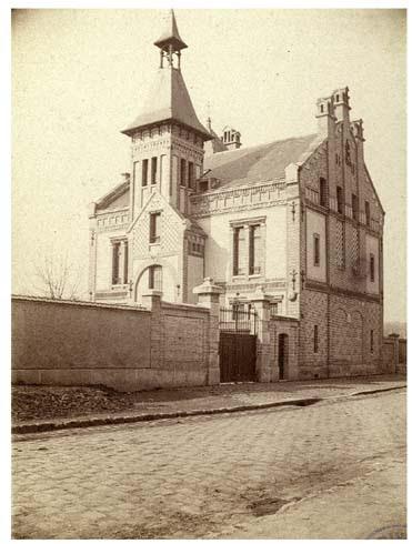 Maison Sari à Vaux, 8 mars 1887