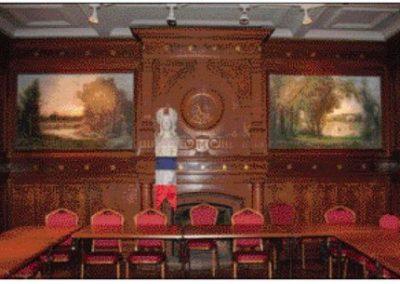 Restauration des tableaux de la Martinière