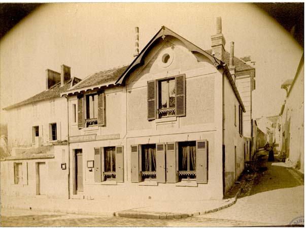 Vaux - Bureau de poste, 8 avril 1888