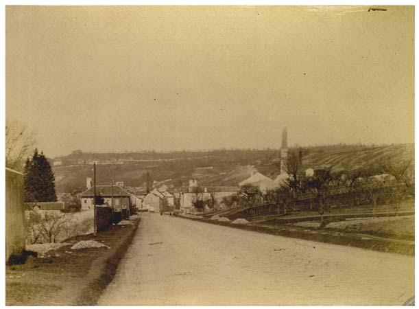 Vaux, Le Temple, plâtrière du Manigau, 6 avril 1888