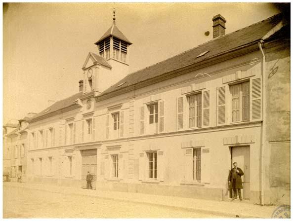 Vaux - Mairie, 6 avril 1888