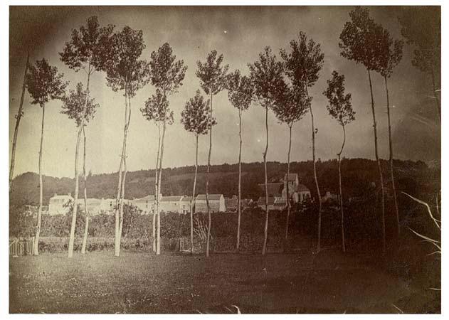 Vaux vu de la Franchise, 12 juin 1888