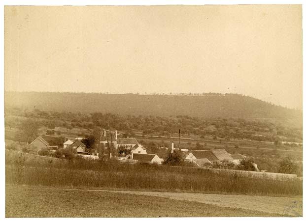 Vue sur le hameau de Fortvache