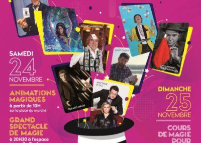 2ème Festival de la Magie, 24 et 25 Novembre 2018