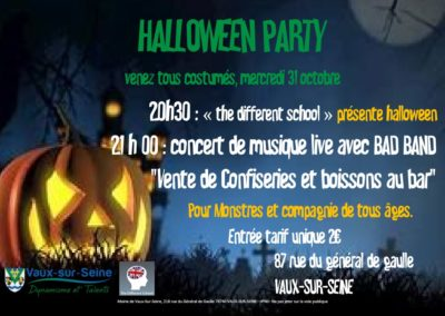 Halloween Party, 31 Octobre 2018