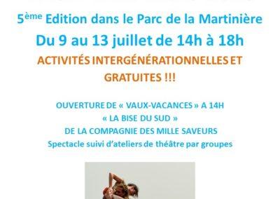 Vaux Vacances 2018