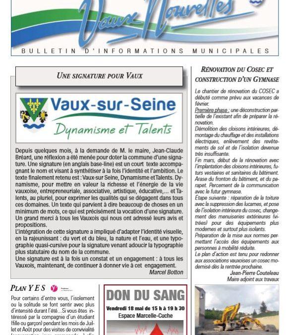Vaux Nouvelles