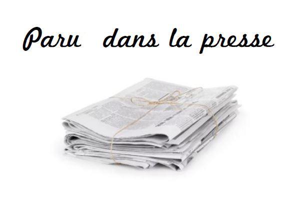 Paru dans la presse