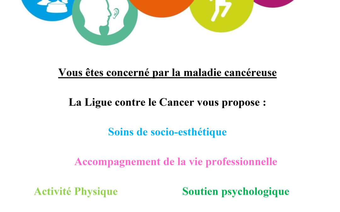 Ouverture d'un cours d'Activité Physique Adaptée pour les malades du Cancer !