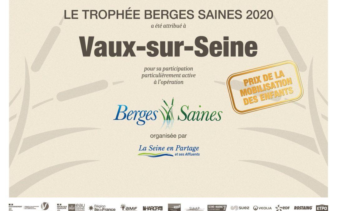 Trophée « Berges Saines »