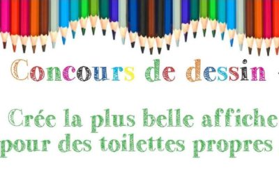 Retour en images sur le concours de dessins : «toilettes propres»
