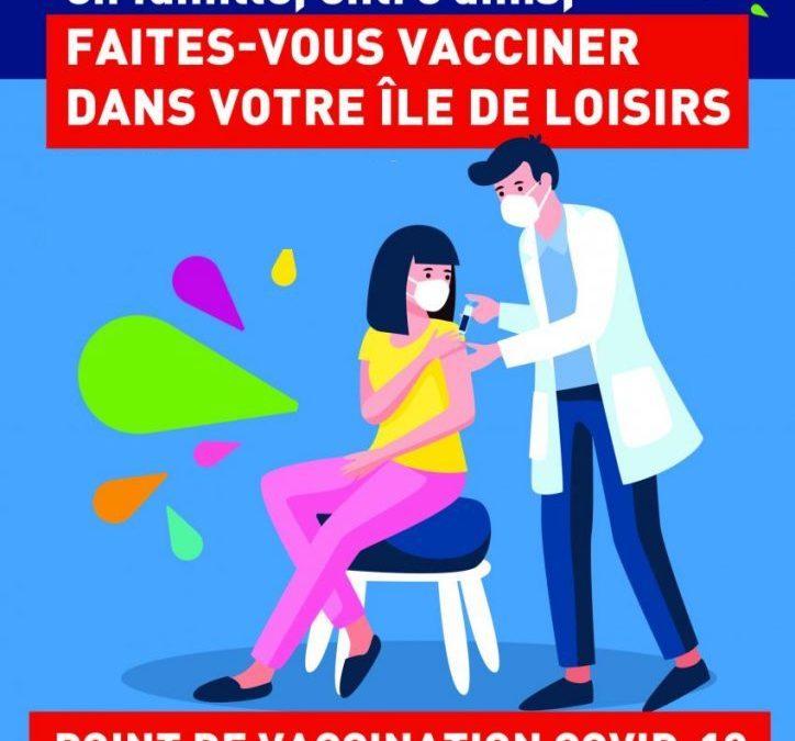 Vaccination gratuite contre la Covid-19 – 14 & 15 août  2021