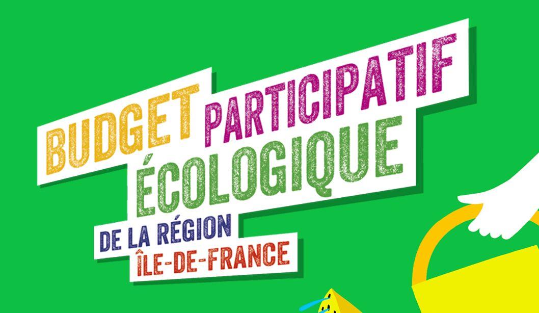 Environnement : Budget Participatif – Du 8 au 26 octobre 2021