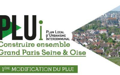 PLUi (Plan Local d'Urbanisme Intercommunal) : Modification n°1